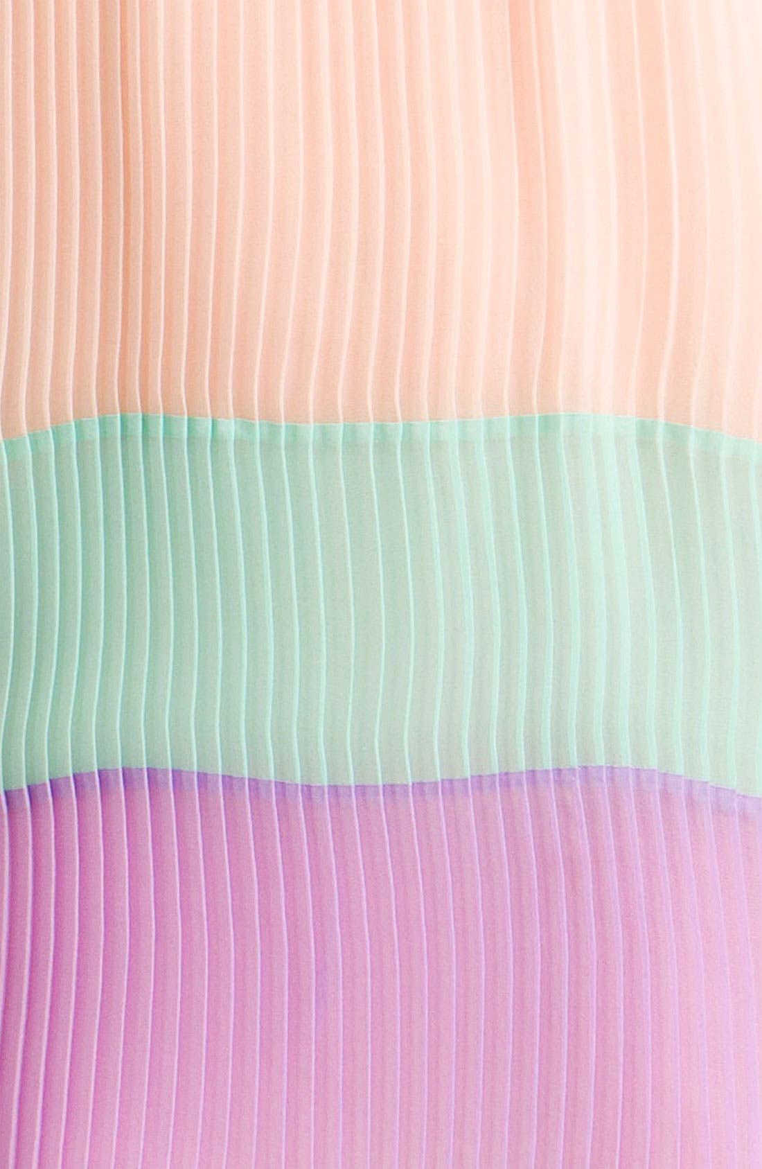 ,                             Pleated Colorblock Shift Dress,                             Alternate thumbnail 2, color,                             650