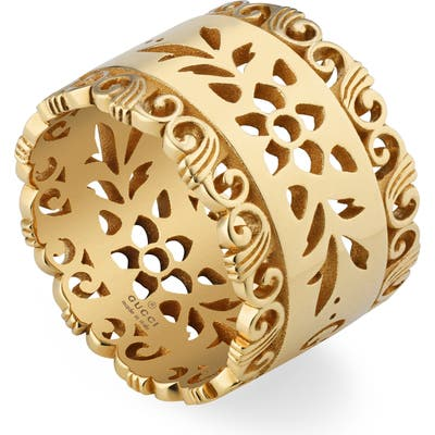 Gucci Icon Blooms Band Ring