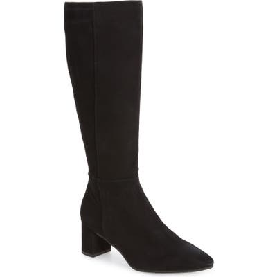 Aquatalia Karly Weatherproof Tall Boot- Black