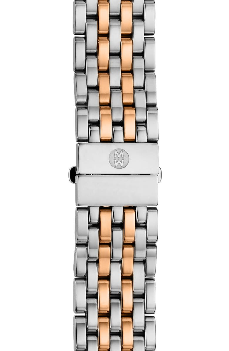 MICHELE 'Serein' 18mm Watch Bracelet Band, Main, color, 042