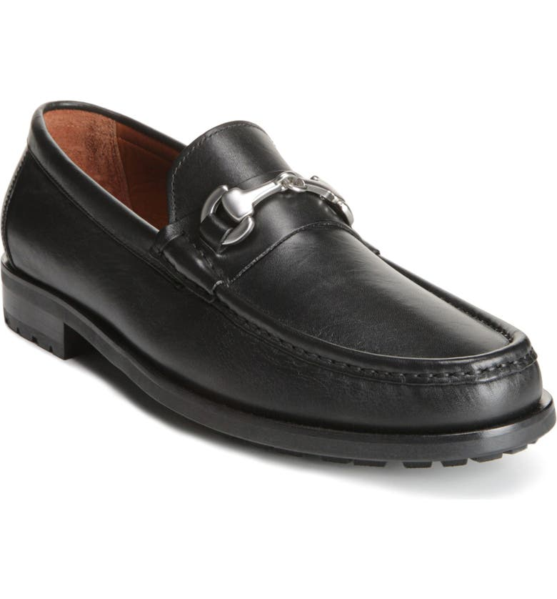 ALLEN EDMONDS Arezzo Bit Loafer, Main, color, BLACK