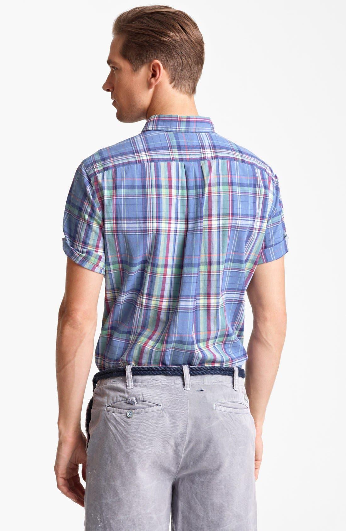 ,                             Short Sleeve Sport Shirt,                             Alternate thumbnail 3, color,                             401