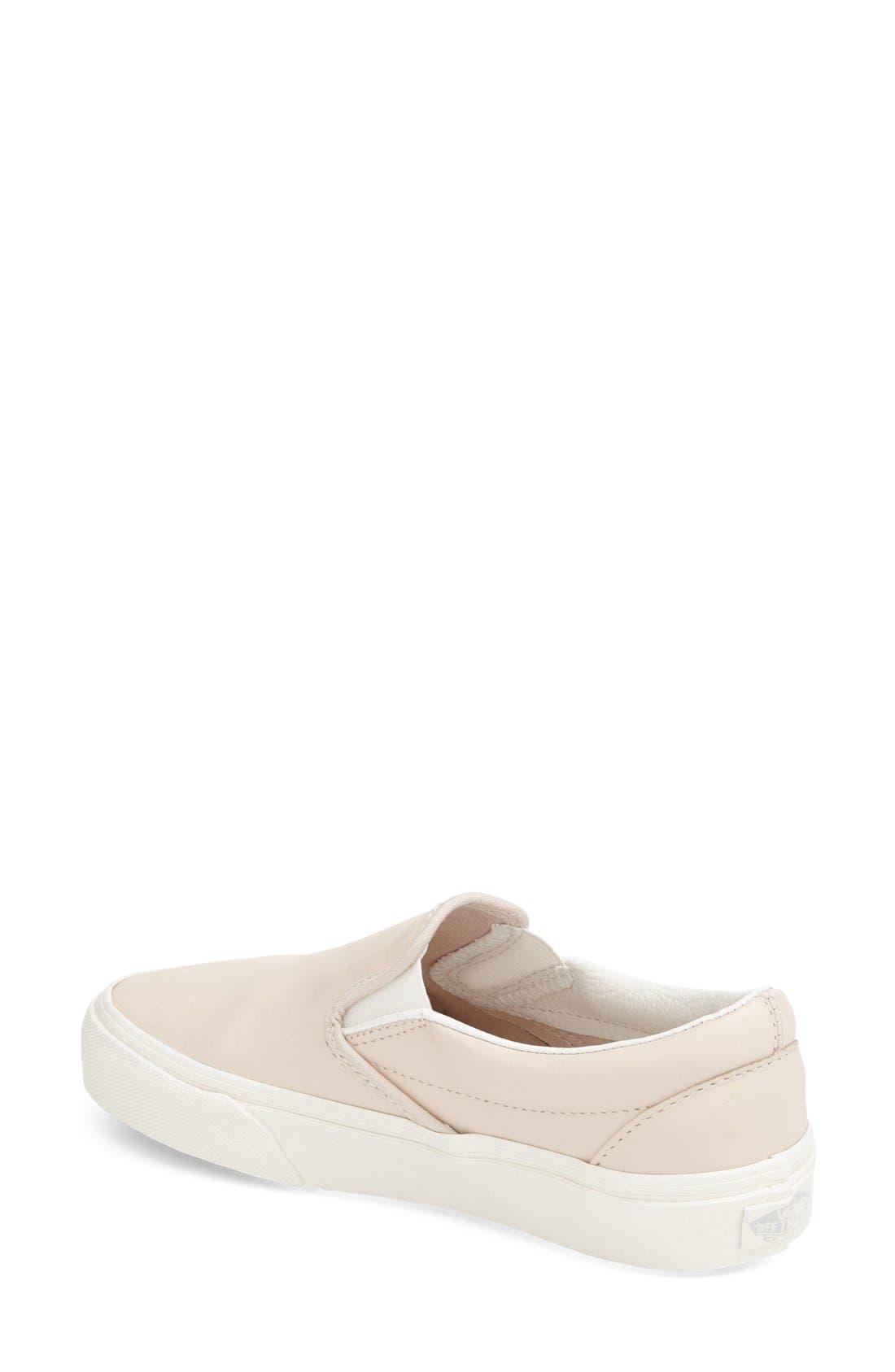 ,                             Classic Slip-On Sneaker,                             Alternate thumbnail 410, color,                             655