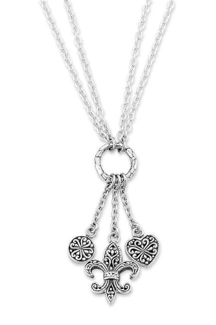 Image of Samuel B Jewelry Sterling Silver Charm Necklace