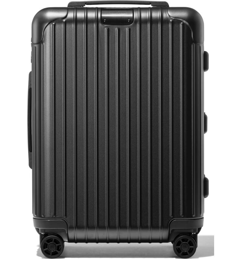 RIMOWA Essential Cabin Small 22-Inch Packing Case, Main, color, MATTE BLACK