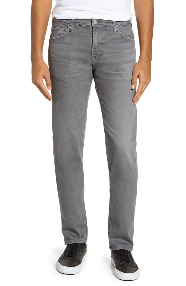 AG Tellis Slim Fit Jeans, Main, color, 7 YEARS FOLKSTONE GREY