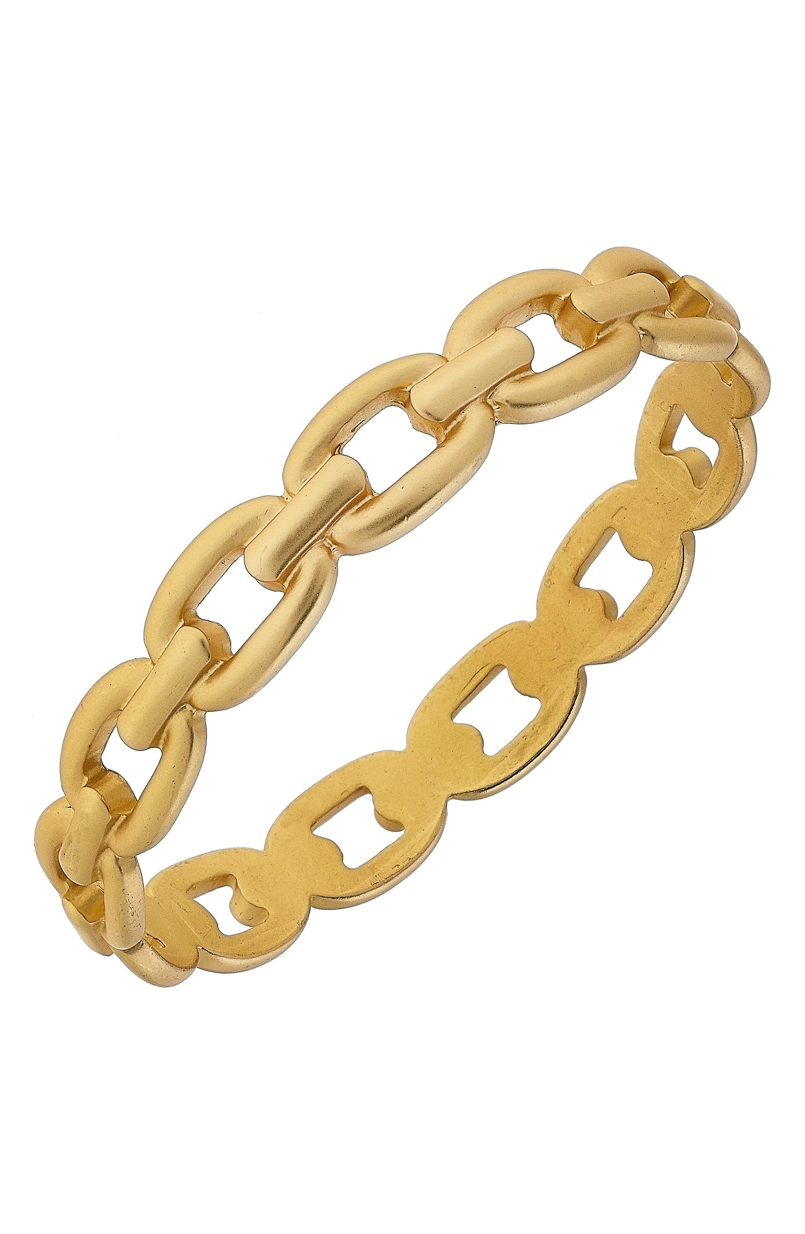 Calais Frozen Chain Bangle