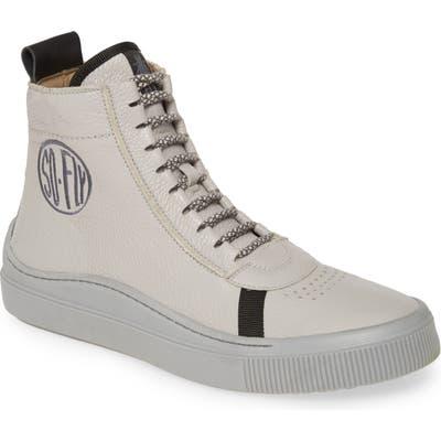 Fly London High Top Sneaker, Grey