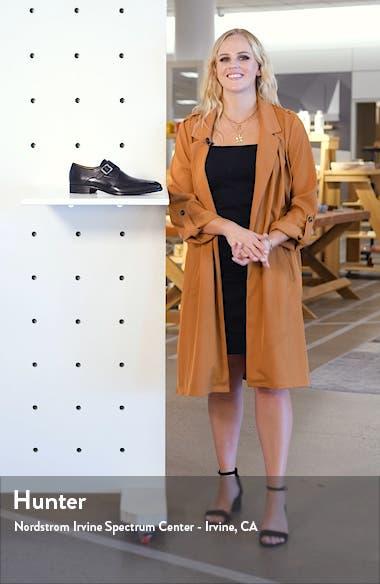 Forest Single Monk Strap Wingtip Shoe, sales video thumbnail