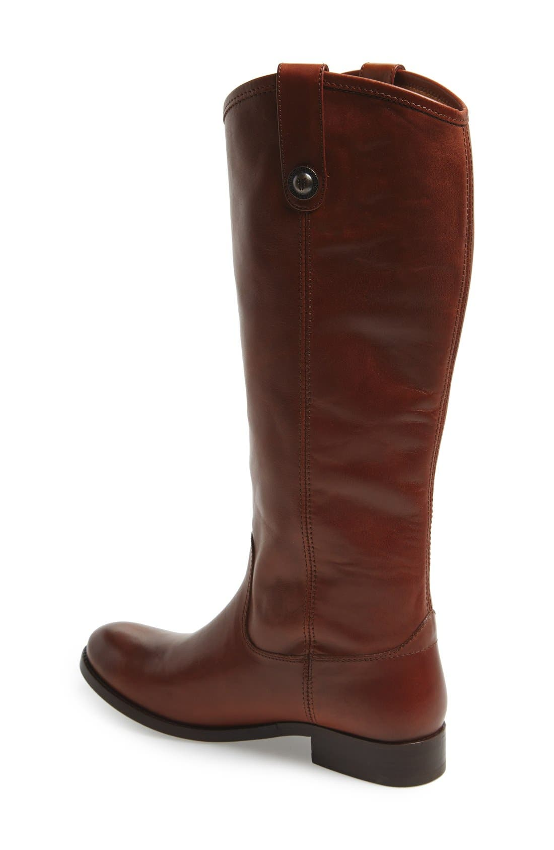 ,                             'Melissa Button' Leather Riding Boot,                             Alternate thumbnail 120, color,                             235