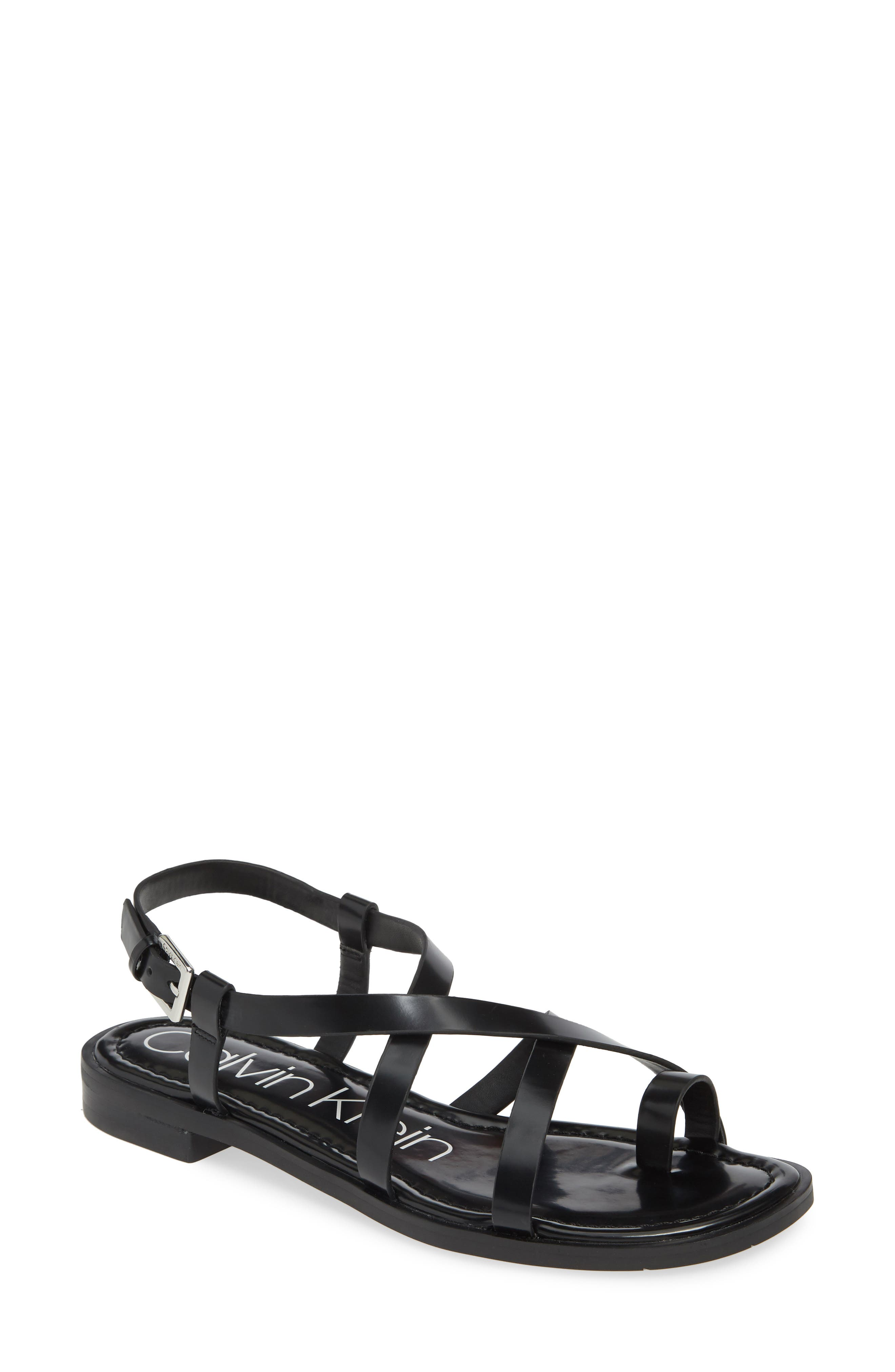 Calvin Klein Tica Sandal- Black