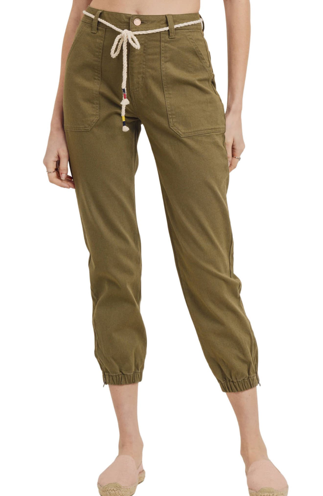 Zip Cuff Utility Pants