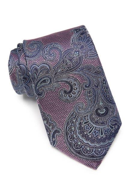 Image of NORDSTROM MEN'S SHOP Ken Paisley Silk Tie