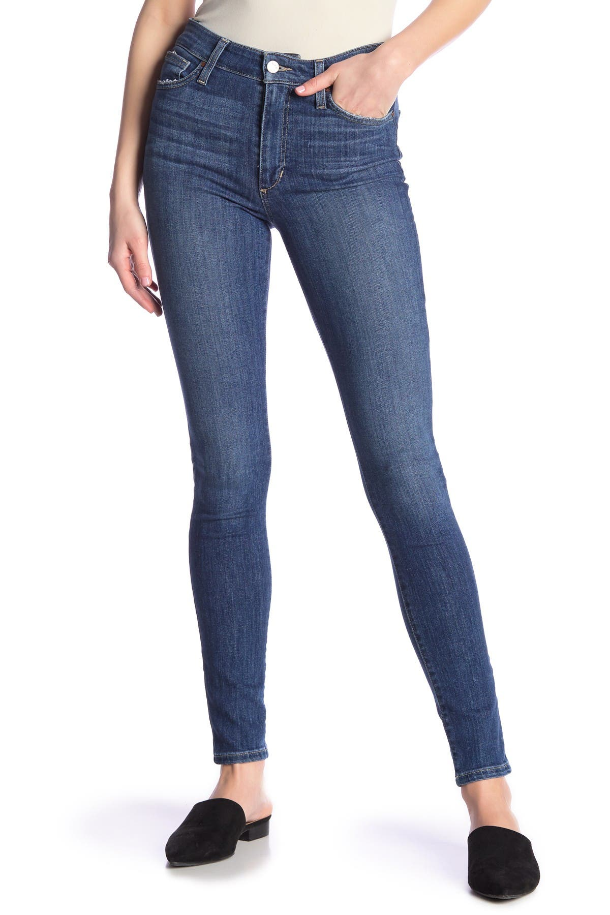 Image of Joe's Jeans Charlie High Rise Ankle Skinny Jeans