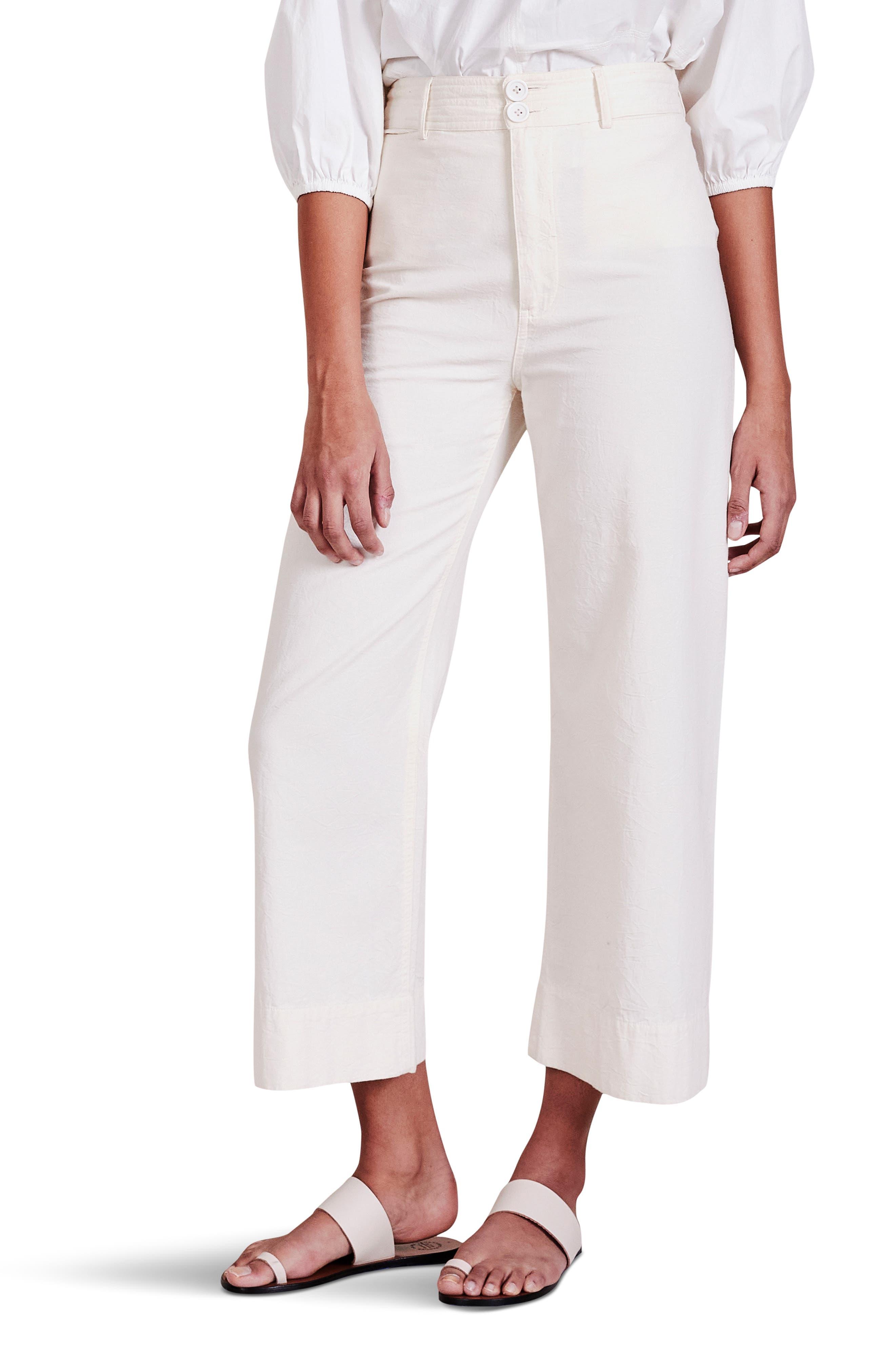 Merida High Waist Crop Pants