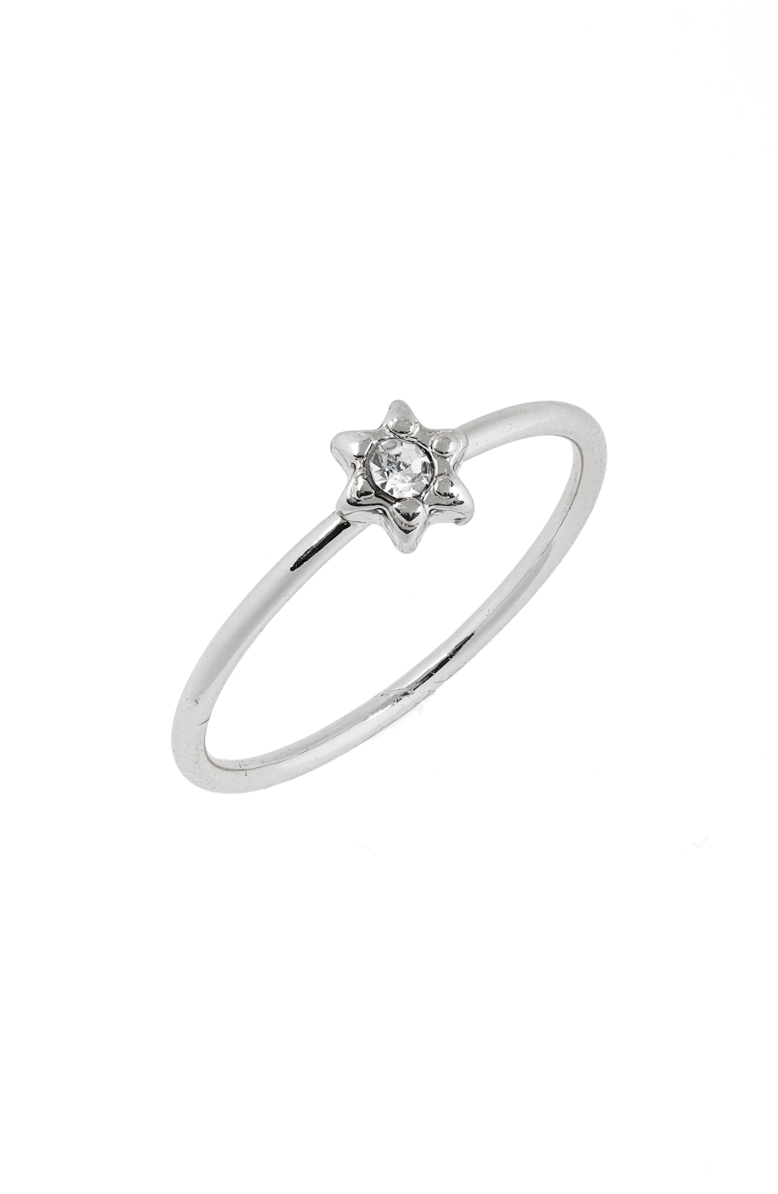 Rising Star Ring, Main, color, SILVER