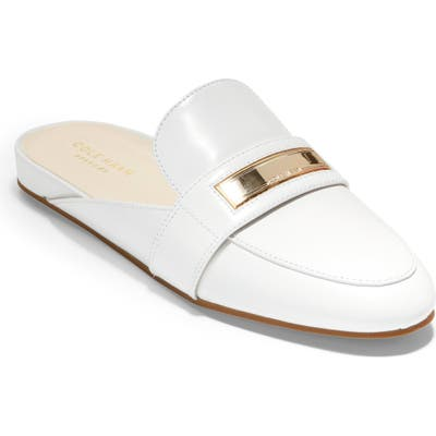 Cole Haan Aria Mule, White