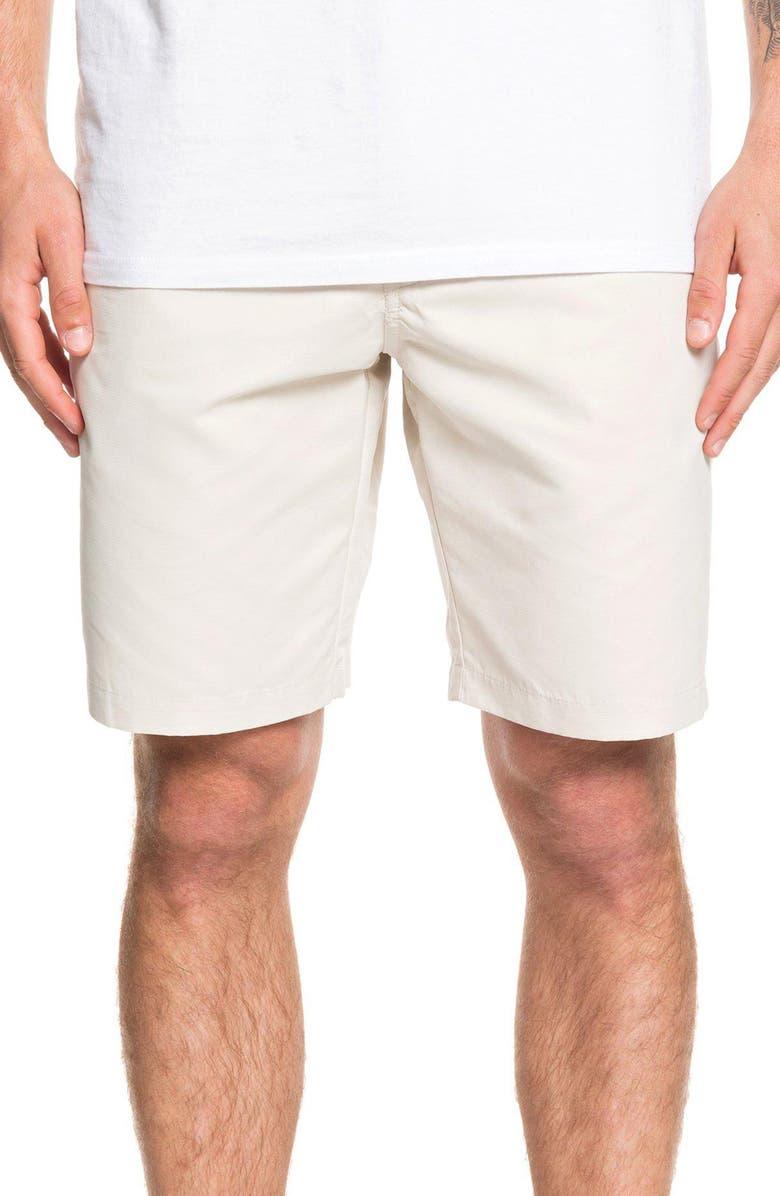 QUIKSILVER Maldive Regular Fit Chino Shorts, Main, color, RAINY DAY