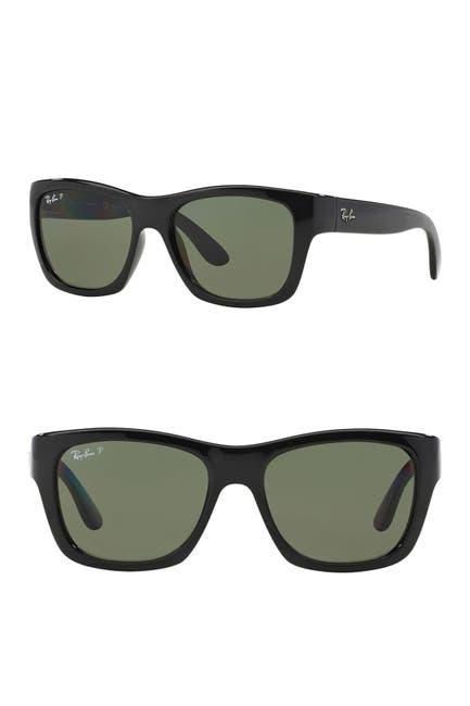 Image of Ray-Ban 53mm Polarized Wayfarer Sunglasses
