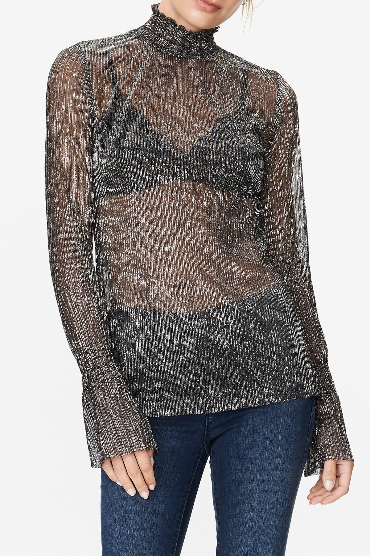 Image of Habitual Esmee Smocked Sheer Top