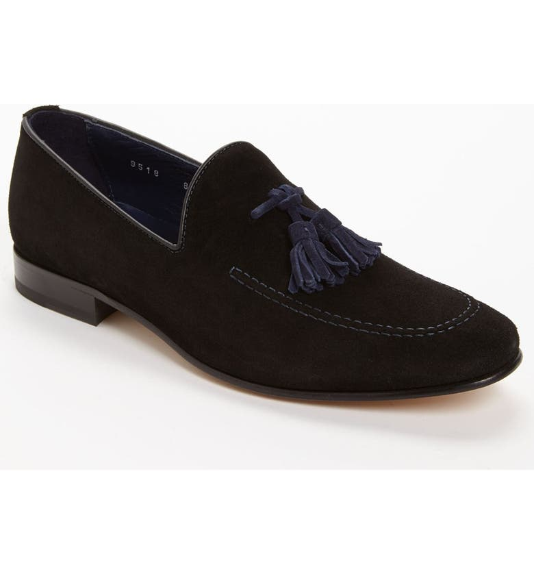 TO BOOT NEW YORK 'Holden' Tassel Loafer, Main, color, 001