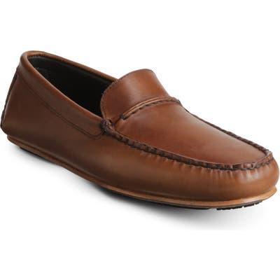 Allen Edmonds Super Sport Driving Shoe, EEE - Brown
