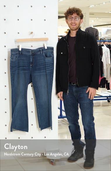 Stell High Waist Step Hem Kick Flare Jeans, sales video thumbnail