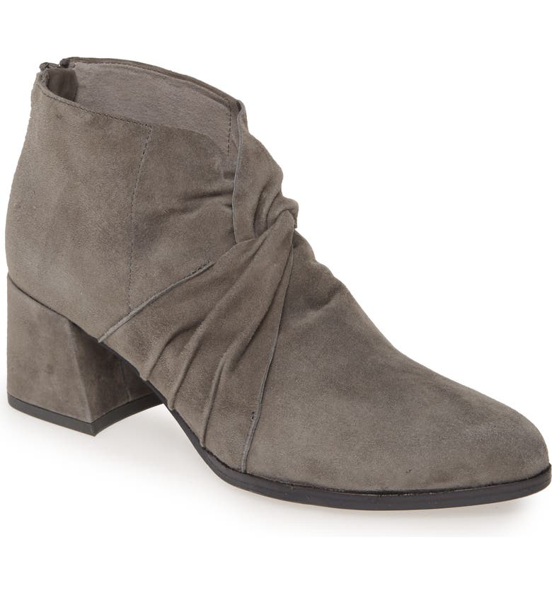 EILEEN FISHER Lux Bootie, Main, color, GRAPHITE SUEDE