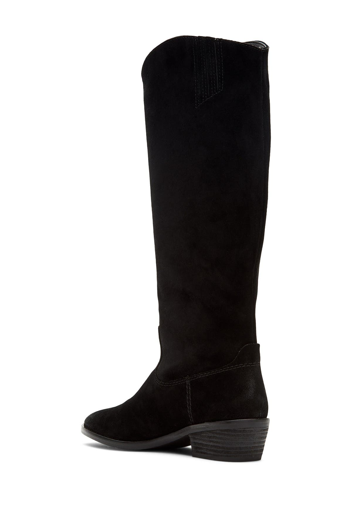 Frye & Co Caden Stitch Suede Tall Boot