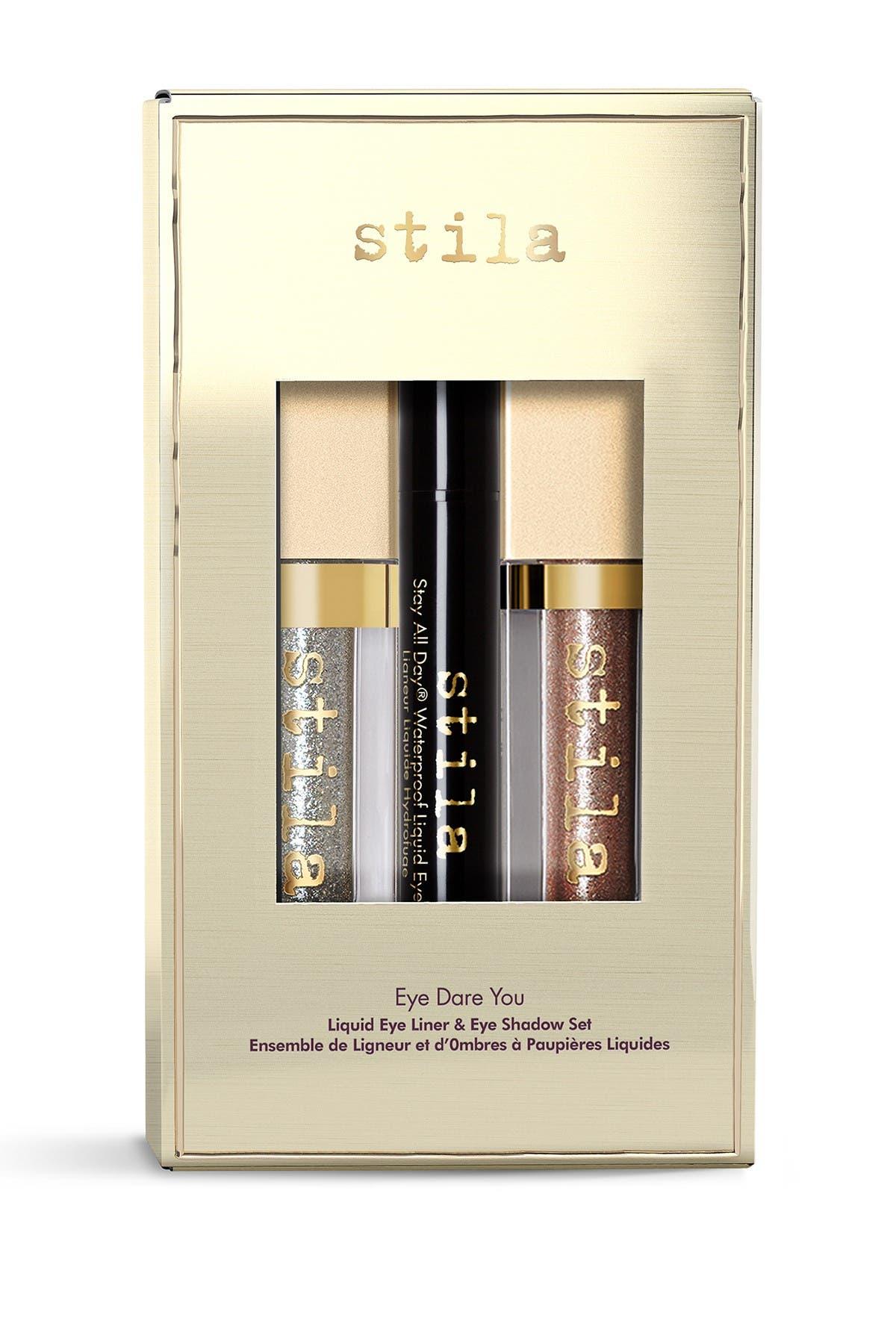 Image of Stila Eye Dare You 3-Piece Liquid Eyeliner & Eyeshadow Set