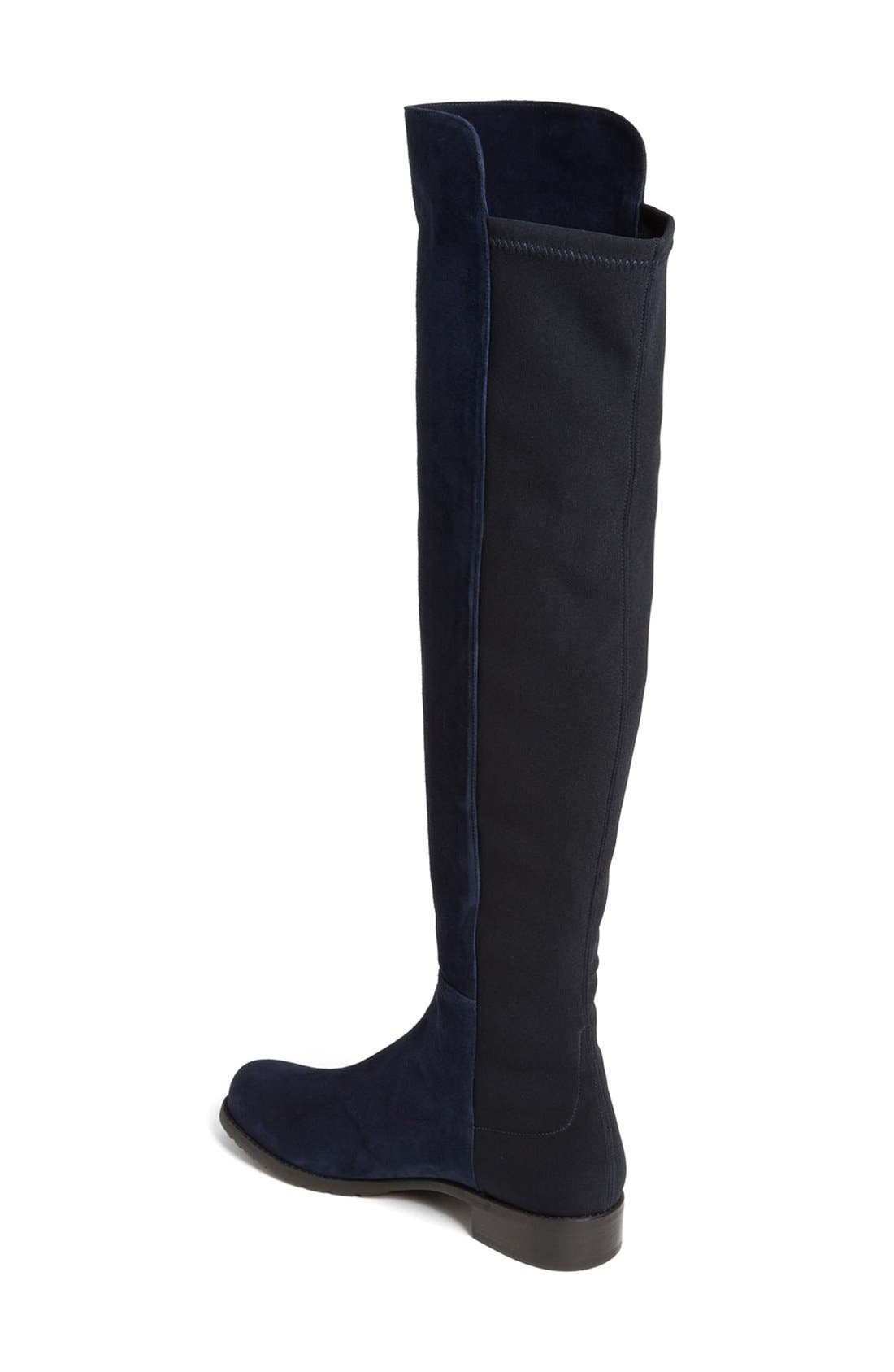 ,                             5050 Over the Knee Leather Boot,                             Alternate thumbnail 47, color,                             400