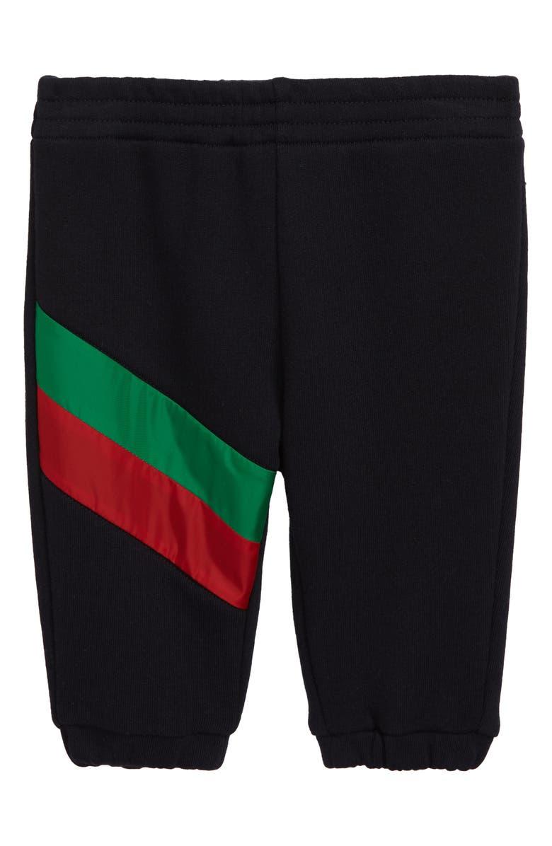 bd7186fb46 Gucci Stripe Jogger Pants (Baby)   Nordstrom