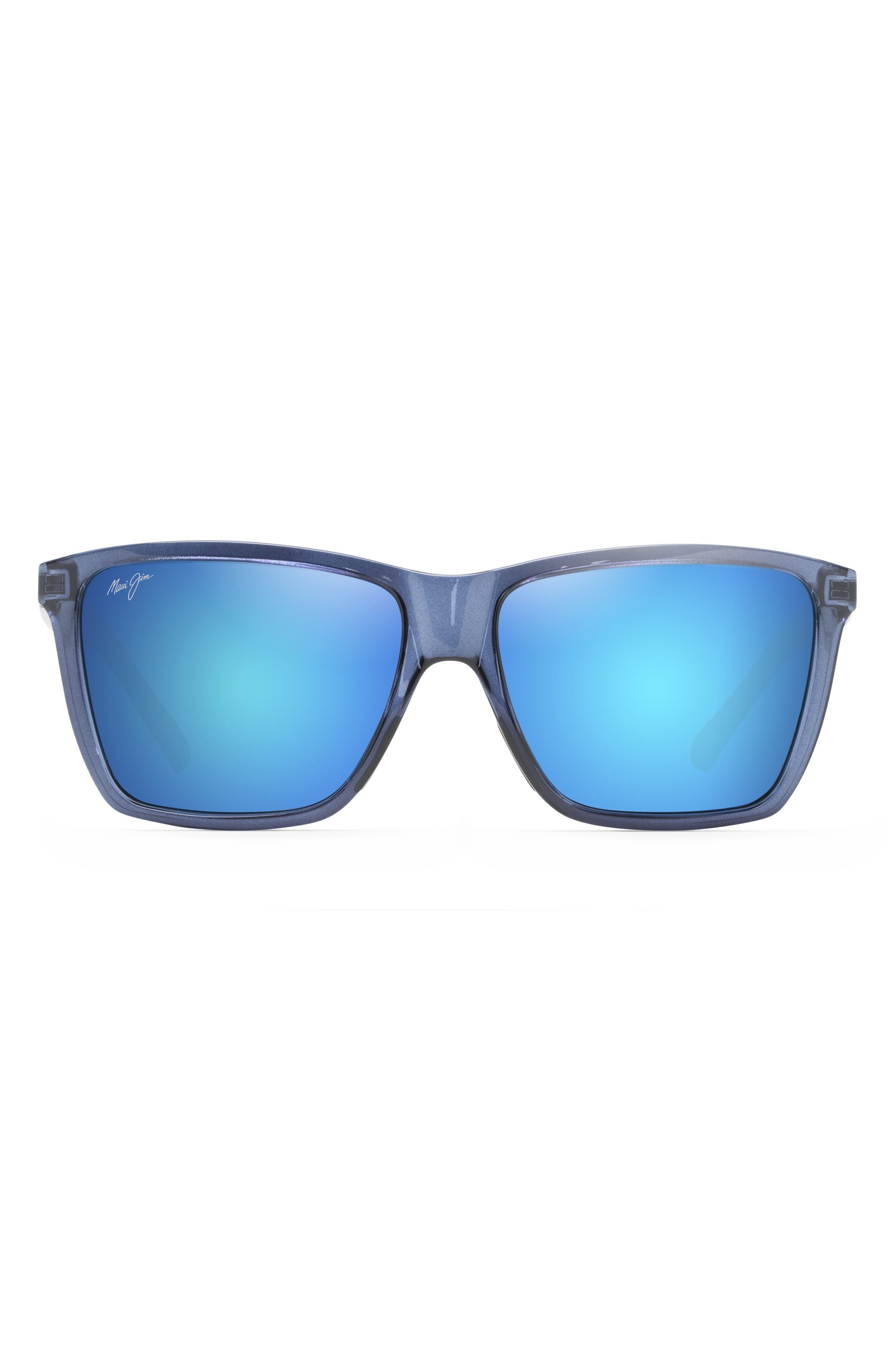Cruzem 57mm Polarizedplus2 Rectangular Sunglasses