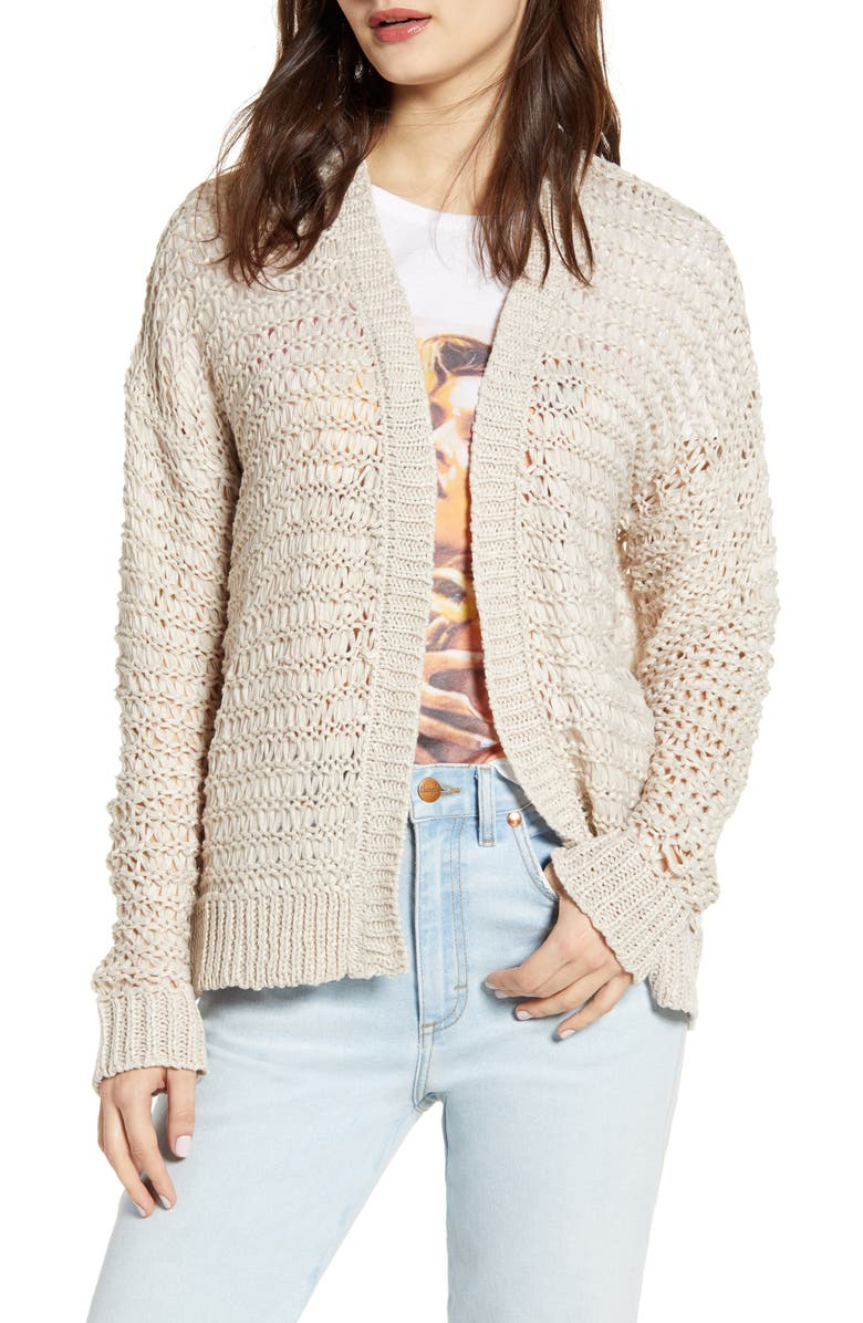 Cotton Emporium Open Stitch Cardigan