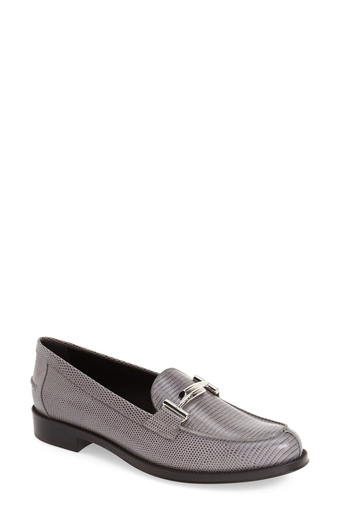 ,                             'Double T' Loafer,                             Main thumbnail 5, color,                             020