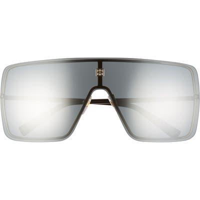 Givenchy Shield Sunglasses - Gold/ Silver