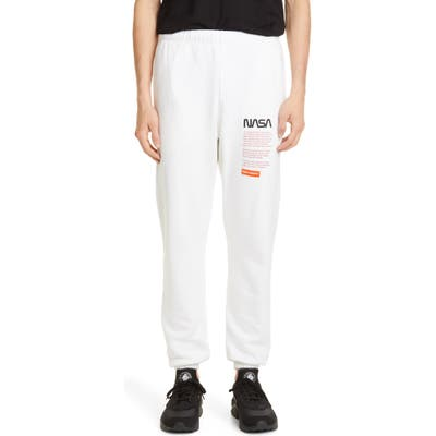 Heron Preston Nasa Slim Fit Embroidered Sweatpants