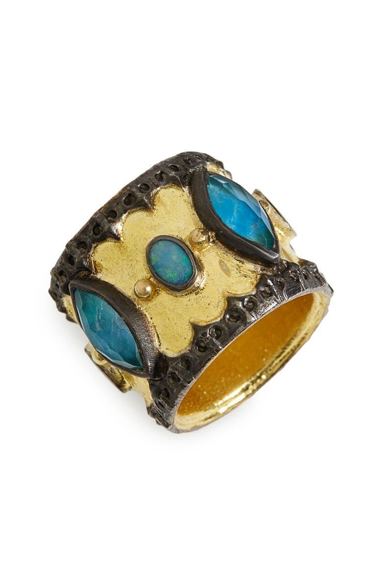 ARMENTA Old World Cigar Band Ring, Main, color, 710