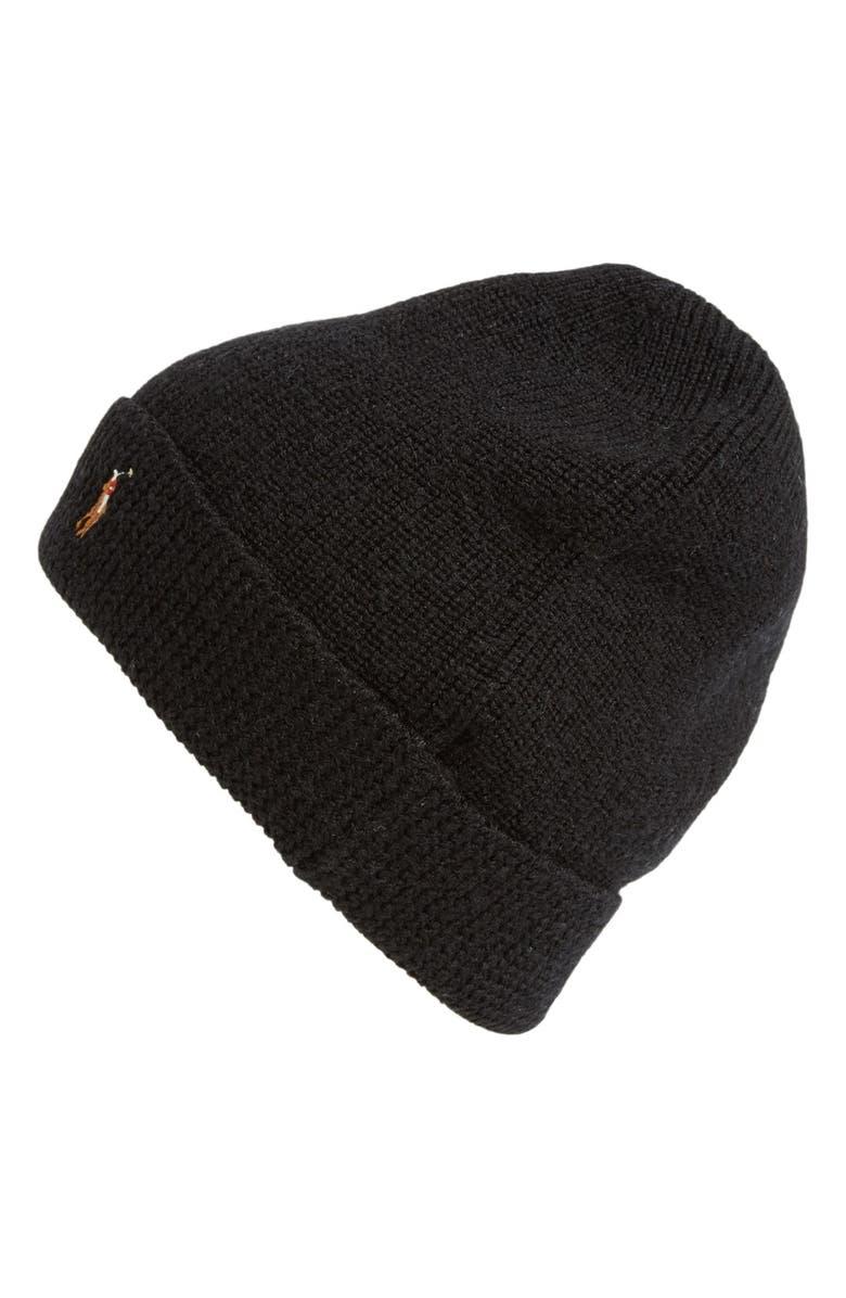 5aa646f1a Polo Ralph Lauren Merino Wool Beanie Hat