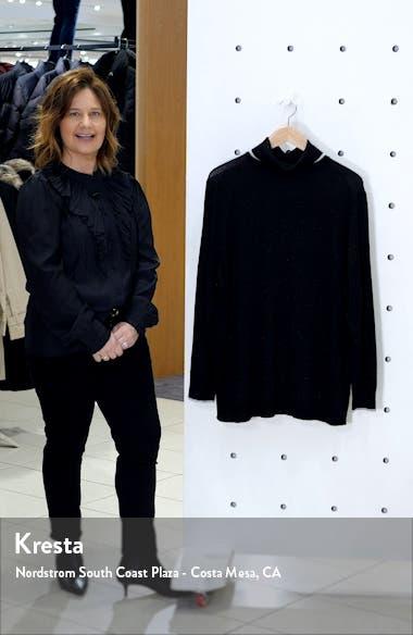 Metallic Tipped Turtleneck Sweater, sales video thumbnail