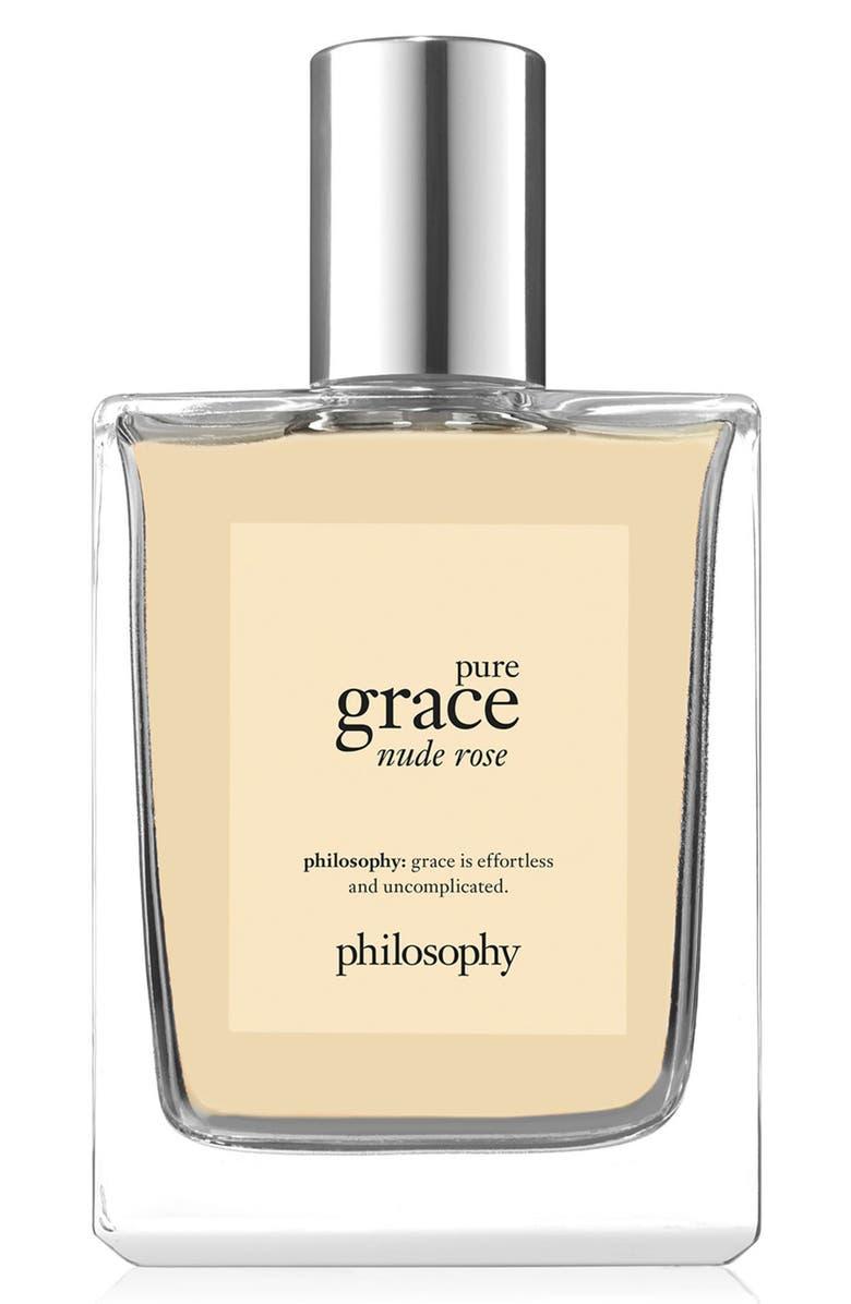 PHILOSOPHY pure grace nude rose eau de toilette, Main, color, NO COLOR