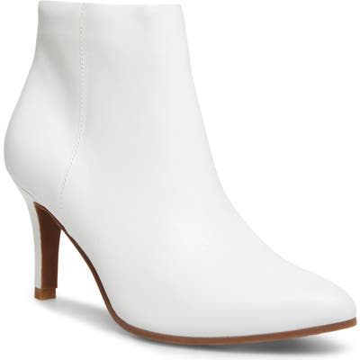 Blondo Teri Waterproof Bootie- White