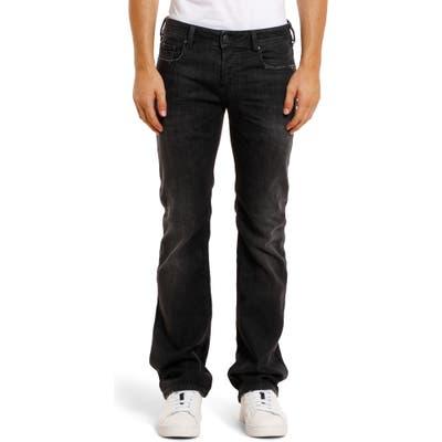 Diesel Zatiny Bootcut Stretch Jeans, Black