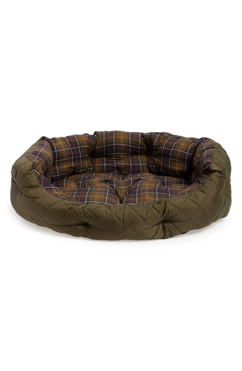 BARBOUR Quilted Dog Bed, Main, color, 340
