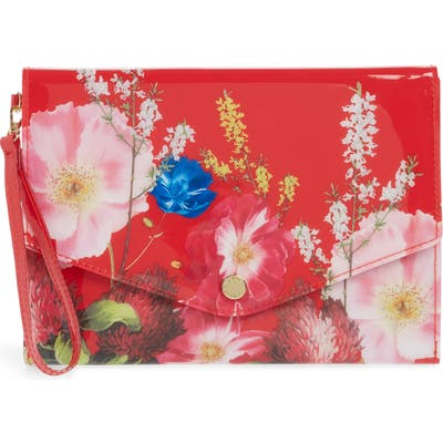 Ted Baker London Adelade Berry Sundae Envelope Pouch - Red