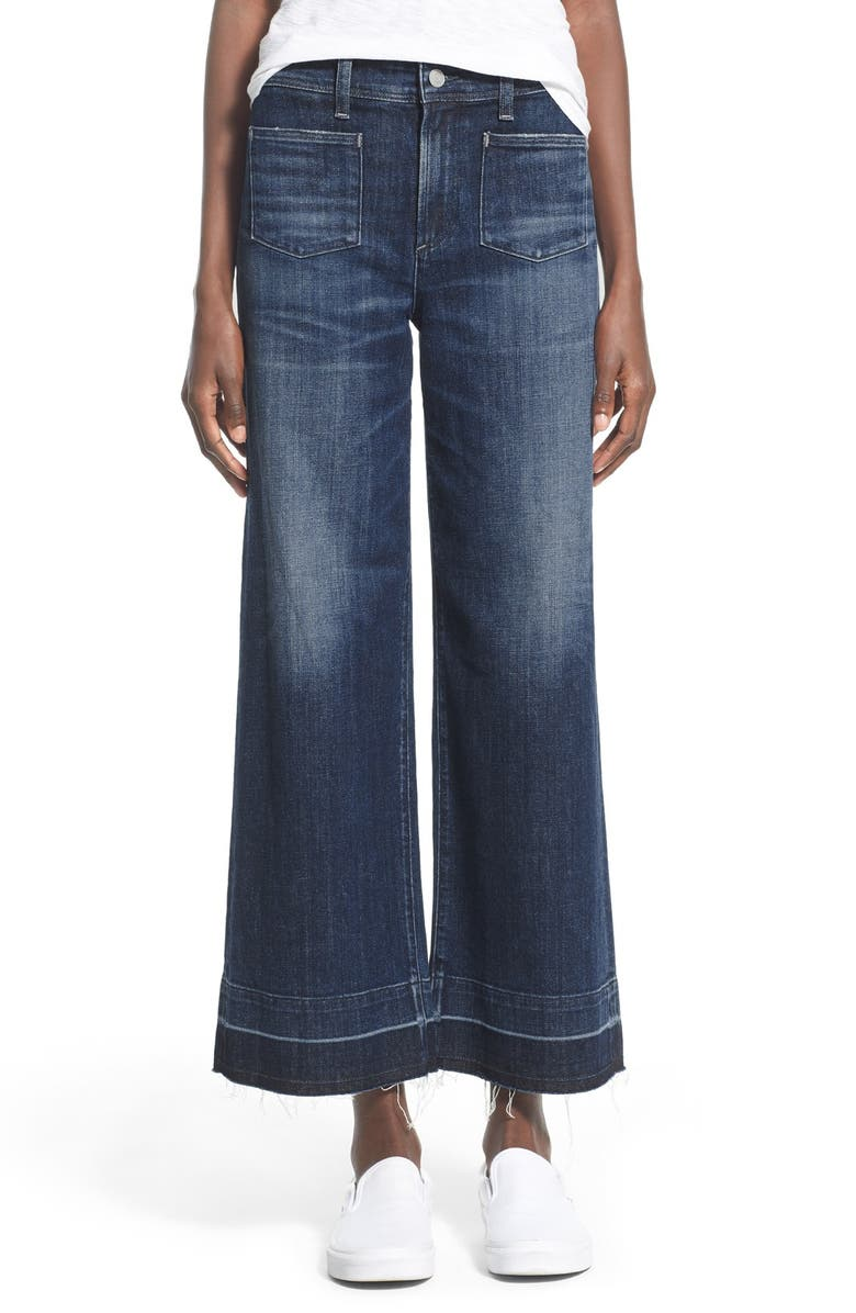 AGOLDE A Gold E 'June' Crop High Rise Flare Jeans, Main, color, 406