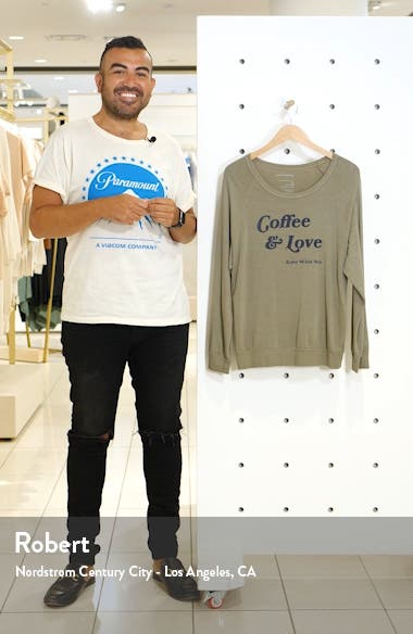Dave Coffee & Love Pullover, sales video thumbnail