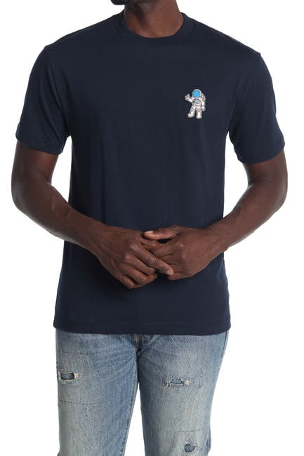 Image of Retrofit Thumbs Up Astronaut Patch Short Sleeve T-Shirt