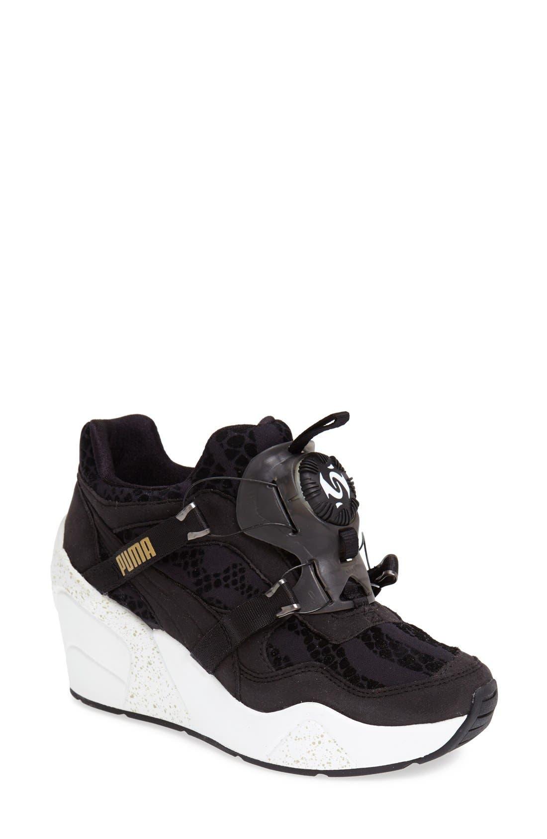 PUMA 'Disc' Wedge Sneaker (Women