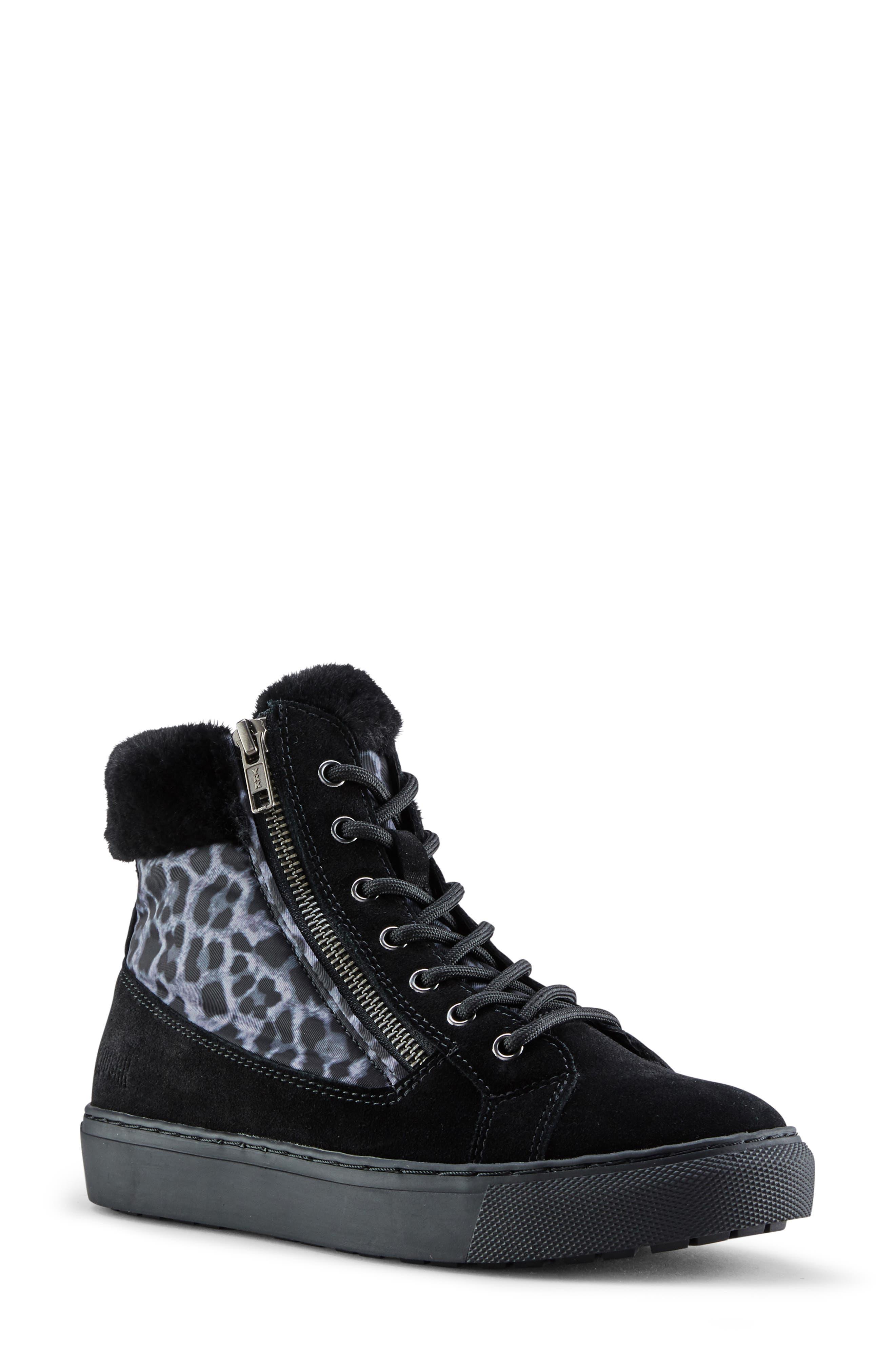 Image of Cougar Dublin Faux Fur Trim Sneaker